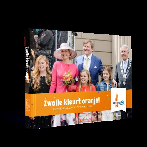 Zwolle kleurt Oranje!