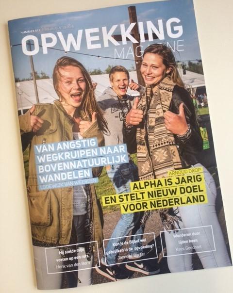 Proclameren in Opwekking Magazine