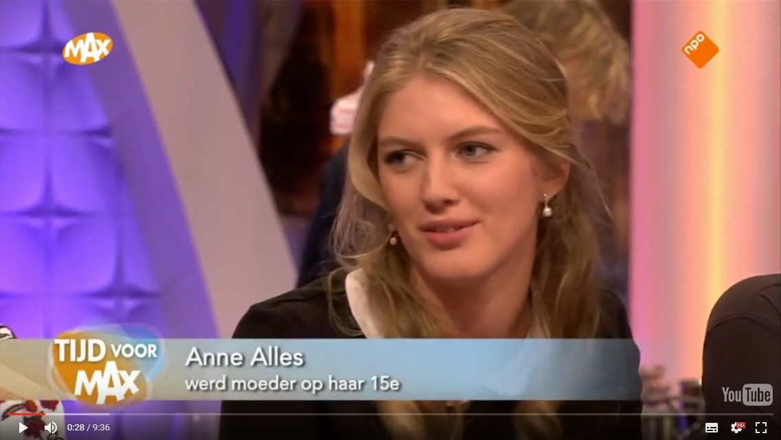 Anne Alles te gast bij Omroep Max